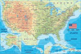 United States And Mexico Map by Us Map W States Foto Nakal Co