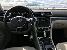 volkswagen sedan interior 2017 volkswagen passat sel premium test drive review autonation