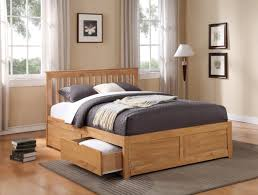 Simple Wooden Bed With Drawers Bed Frames King Size Bed Frame With Drawers Bed Framess