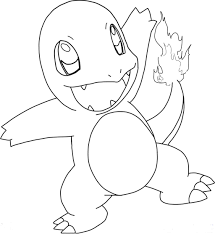 charmander coloring page coloring home