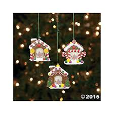 express resin gingerbread house photo frame