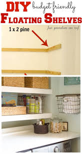Building Floating Shelves by 2013 Top Diy Projects Laundry Rooms Shelves And Laundry