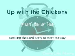 Seeking Theme Up With The Chickens Womens Ministry Theme Creative