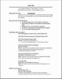 Federal Resume Examples by Resume Format For Government Jobs Government Resume