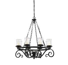 Outdoor Hanging Chandeliers 1 1120 8 Bk Welch 8 Light Outdoor Chandelier By Savoy House