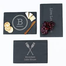 personalized cheese boards personalized slate cheese board