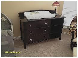 crib with dresser attached fresh modern espressro wood baby crib