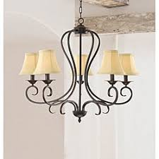 Bronze Chandelier With Shades Wood Ceiling Lights For Less Overstock Com