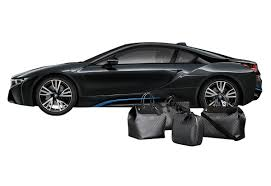 Bmw I8 Blacked Out - louis vuitton designs carbon fiber luggage collection for bmw i8