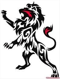 black tribal design stencil viewer com
