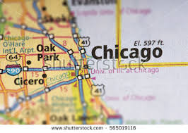 highway map of the united states chicago road map stock images royalty free images vectors