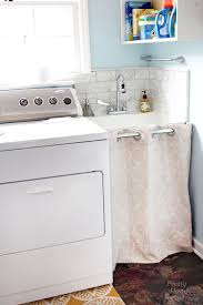 Laundry Room With Sink Storage A Laundry Room Sink