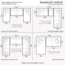 Sectional Sofas Dimensions Sofas Center Standardofaizeizes Dimensionsstandard Chartstandard