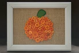 halloween picture frame crafts button pumpkin and ghost a pumpkin and a princess