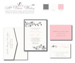 Love Bird Wedding Invitations Pink And Gray Wedding Invitation U2013 A Vibrant Wedding