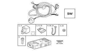 7 pin towbar wiring u0026 trailer module xc90 2005 2014
