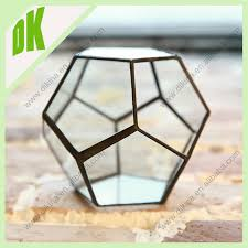 Clear Glass Vases With Lids Glass Terrarium Jar Glass Lid Clear Glass Pot Bud Vases