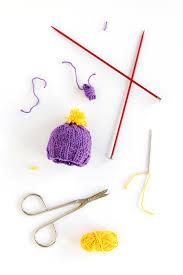 knit cap ornament 12 ornaments of