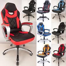 Car Desk Chair Raygar Reclining Sport Racing Car Office Chair Adjustable Gaming