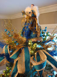 abigail and dolley peacock christmas tree