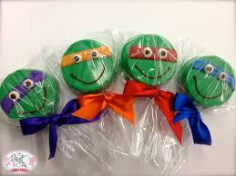 Edible Birthday Favors by Edible Birthday Favors Mutant Turtle Oreos The