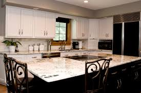 White Kitchen Countertop Ideas by Kitchen Cabinets White Granite Kitchen Countertops Rejuvenate