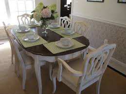 antique french dining table and chairs french country round dining table set round designs