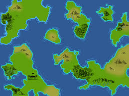 Biome World Map by Fantasy World Map Opengameart Org