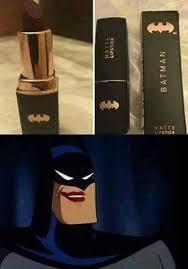 Lipstick Meme - dopl3r com memes batman approves this lipstick