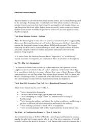 sample of chronological resume functional resume format resume format and resume maker functional resume format do highlight specific skill sets gained within each position using the combined chronologicalfunctional