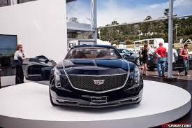 New Cadillac Elmiraj Price Pebble Beach 2013 Cadillac Elmiraj Concept Gtspirit