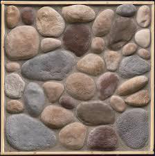 stonecraft river rock adirondack flats 8 sq feet heaton