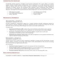 Admin Resume Examples 100 Administrative Support Resume Administrative Assistant