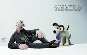 wallace gromit harvey nichols bristol inspiration room