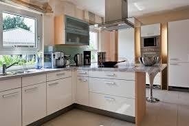 kitchen room interior modern house interior of modern kitchen room stock photo colourbox