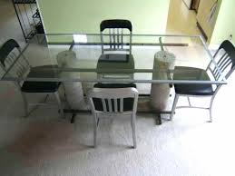 steel dining room chairs articles with metal dining table set online india tag steel