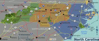 map of carolina overview map regions worldofmaps net