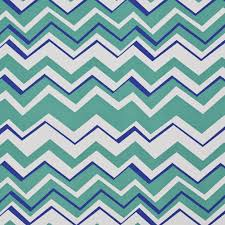 outdoor upholstery fabric teal blue and white chevron flame stitch outdoor upholstery