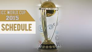 Cricket World Cup Table Icc World Cup 2015 Fixtures Cricket World Cup Schedule U0026 Time
