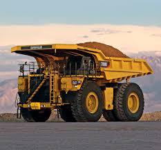 rigid dump truck diesel mining and quarrying 789d