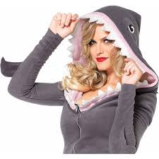 shark halloween costume leg avenue cozy shark halloween costume walmart com