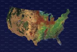 Altitude Map Of Usa by Download Map Usa Topographical Major Tourist Attractions Maps