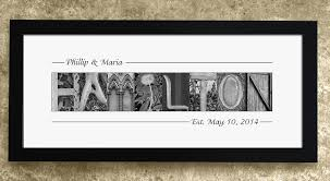 wedding gift letter of the gift last name sign of the groom gift