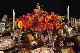 a thanksgiving table set by stacey bewkes and alex papachristidis