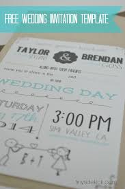 free wedding invitation template with inserts free wedding
