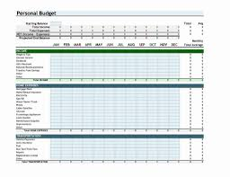 Spreadsheet For Home Budget by Sample Spreadsheet Budget Haisume