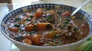 cuisiner les lentilles vertes lentilles verte du puy au veau à la marocaine recettes site