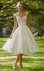 beach wedding dress tea length naf dresses
