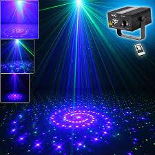 new mini ir remote 24 big pattern mini gb laser projector lights