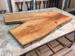 Cherry Coffee Table Live Edge Coffee Table Curly Live Edge Cherry Slabs Live Edge